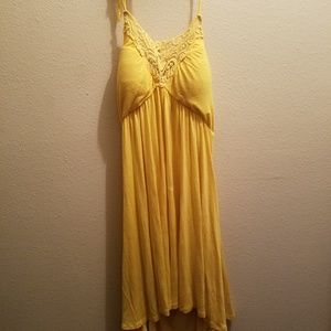 Yellow Cotton Sundress